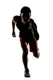 Asian athlete running Stock Images