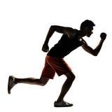 Asian athlete running Stock Photo