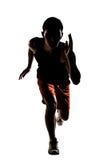Asian athlete running Royalty Free Stock Photo