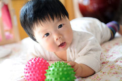 Asian baby Stock Images