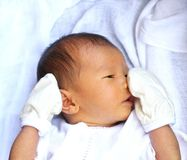 Asian baby Stock Photo