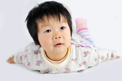 Asian baby Royalty Free Stock Photos