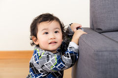 Asian baby boy. At home Royalty Free Stock Photo