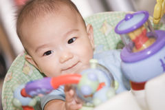 Asian baby boy Royalty Free Stock Photo