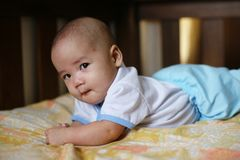 Asian Baby Boy Stock Images