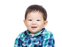 Asian baby boy. Asia baby boy isolated on white Stock Image