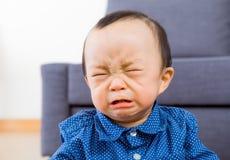 Asian baby boy crying Stock Photos