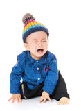 Asian baby boy crying Stock Photography