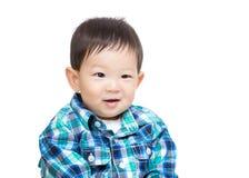 Asian baby boy portrait Stock Image