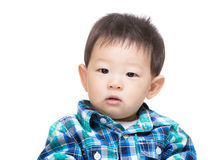 Asian baby boy portrait Royalty Free Stock Photos
