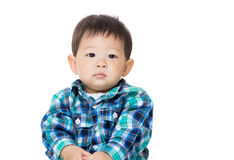 Asian baby boy portrait Stock Photo