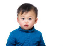 Asian baby boy portrait Royalty Free Stock Image
