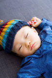 Asian baby boy sleeping Royalty Free Stock Image