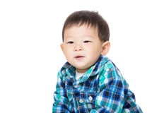 Asian baby boy smile Royalty Free Stock Photo