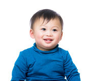 Asian baby boy smile Stock Images
