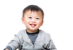Asian baby boy smile Royalty Free Stock Photos