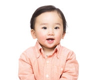 Asian baby boy smile Royalty Free Stock Image
