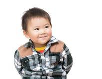 Asian baby boy smile Stock Photos