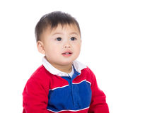 Asian baby boy smile Royalty Free Stock Photography