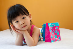 Asian baby child girl Royalty Free Stock Photography