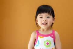 Asian baby child girl Royalty Free Stock Photos