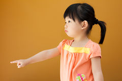 Asian baby child girl Royalty Free Stock Images