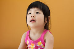 Asian baby child girl Stock Image