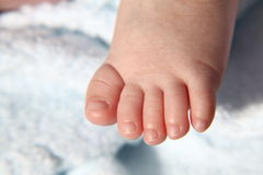 Asian baby foot Royalty Free Stock Photo