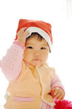 A Asian baby girl Royalty Free Stock Images