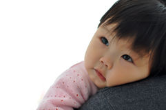 A Asian baby girl Stock Images