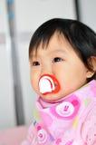 A Asian baby girl Stock Photos