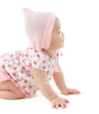 Asian baby girl Royalty Free Stock Photos