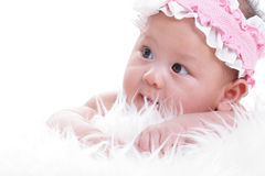 Asian baby girl Royalty Free Stock Image