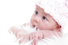 Asian baby girl Royalty Free Stock Photo