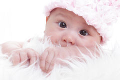Asian baby girl Stock Photos