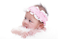 Asian baby girl Stock Photography