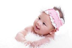 Asian baby girl Stock Photos