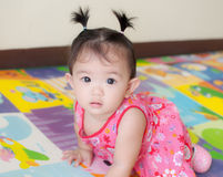Asian baby girl Stock Photo