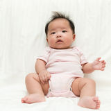 Asian baby girl Royalty Free Stock Images