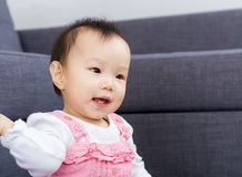 Asian baby girl smile Stock Images