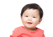 Asian baby girl smile Royalty Free Stock Photography