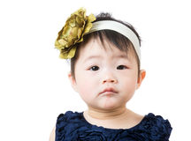 Asian baby portrait Stock Photography