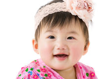 Asian baby smile Stock Photography
