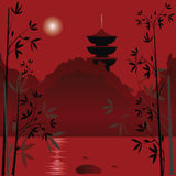 Asian background Royalty Free Stock Image