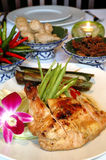 Asian Baked Chicken Royalty Free Stock Photos