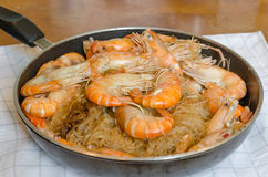 Asian baked shrimp Royalty Free Stock Photos