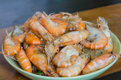 Asian baked shrimp Royalty Free Stock Photo