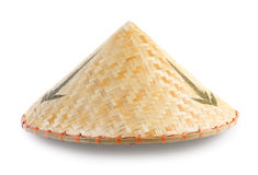 Asian bamboo conical hat Royalty Free Stock Photography