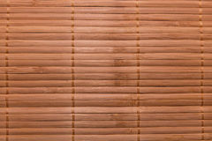 Asian bamboo napkin background. Stock Images