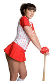 Asian Baseball Player Stock Photography